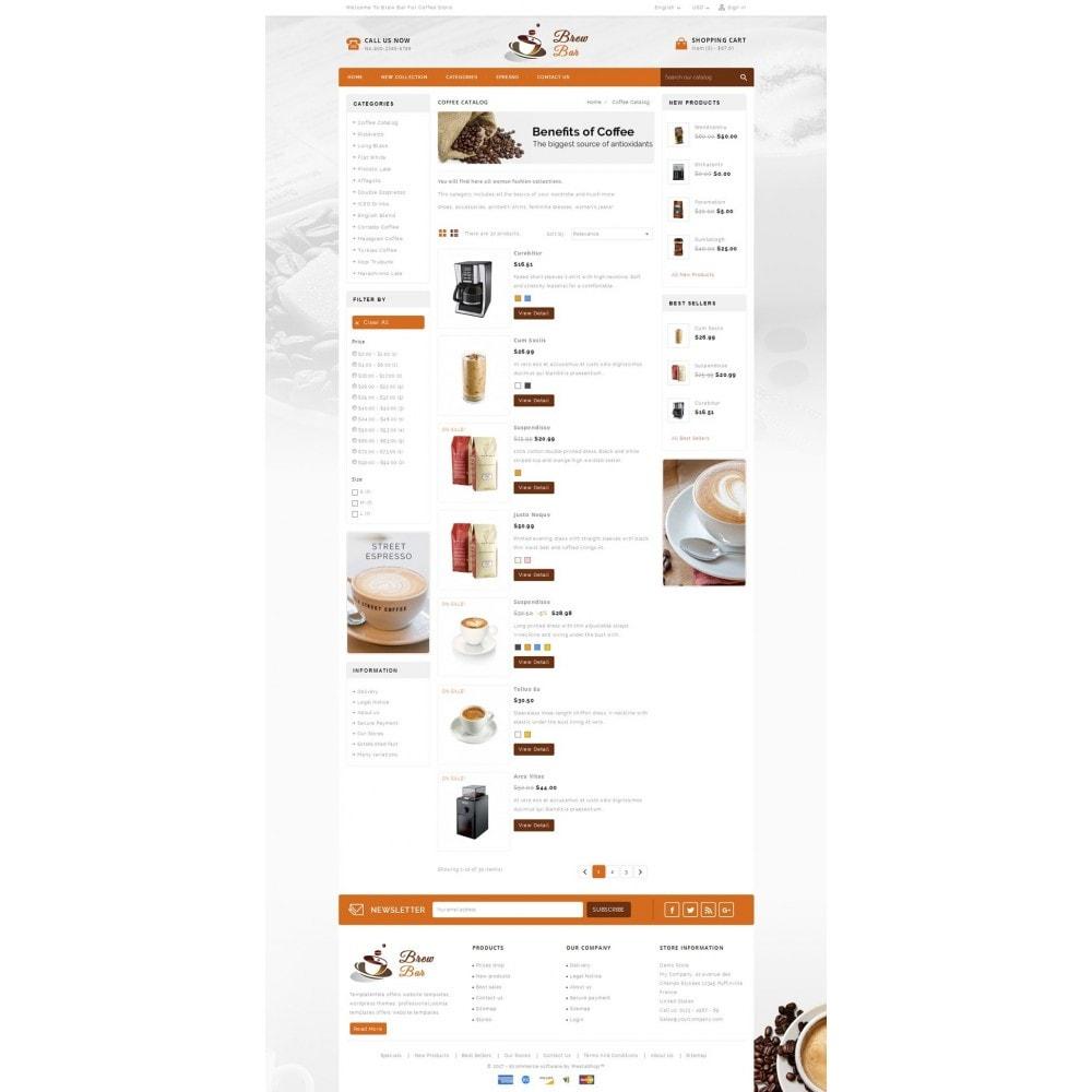 theme - Alimentation & Restauration - Brew Bar - Coffee Store - 4