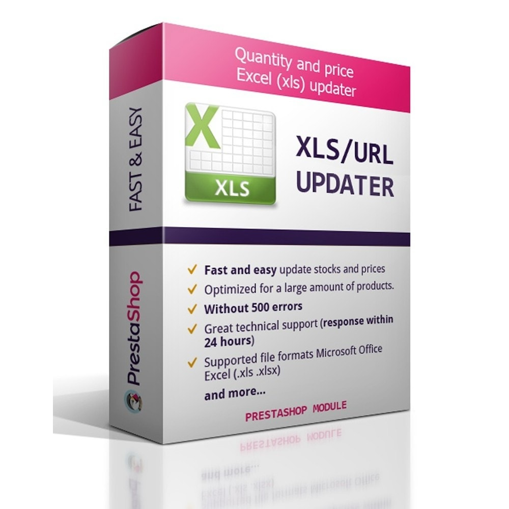module - Data Import & Export - Quantity and price Excel (xls) updater - 1
