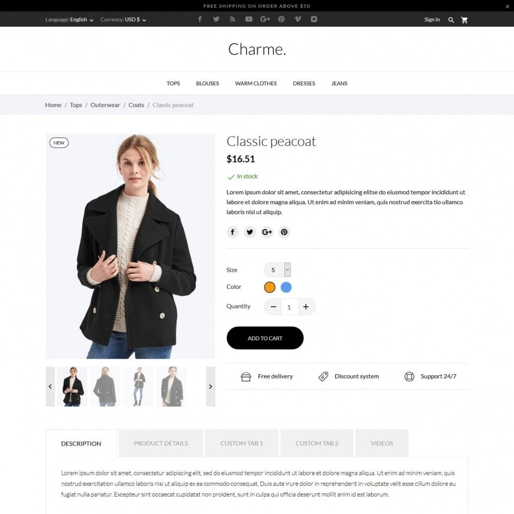 theme - Moda & Obuwie - Charme Fashion Store - 22