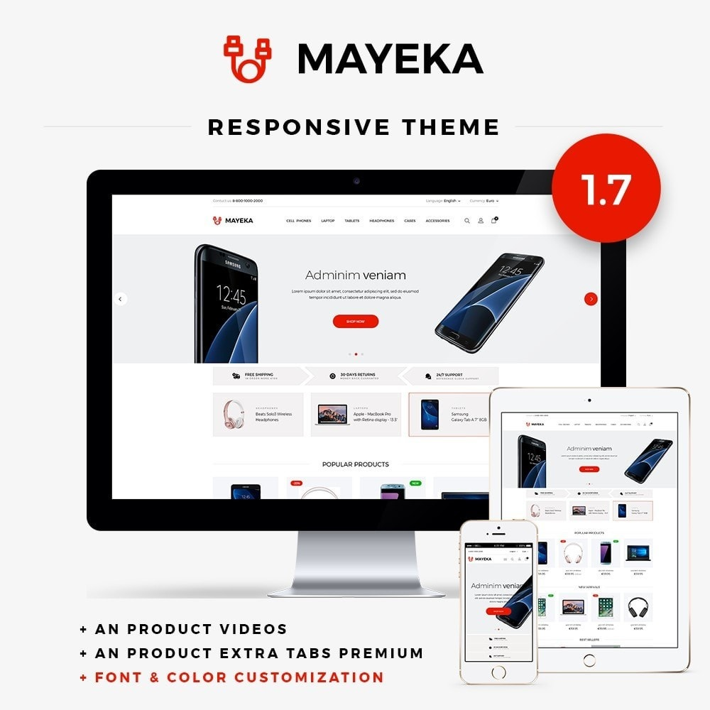 theme - Elektronica & High Tech - Mayeka - High-tech Shop - 1