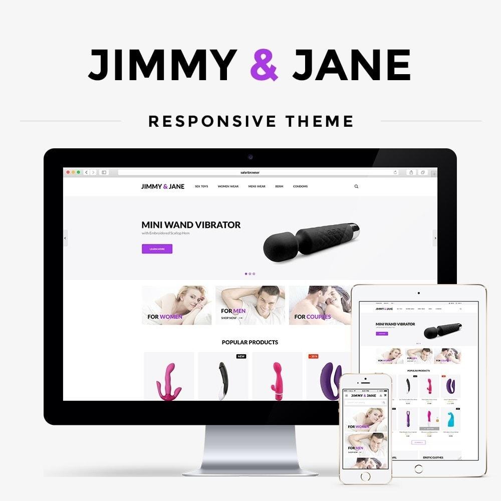 theme - Lingerie & Adulti - Jimmy&Jane - SexShop - 1