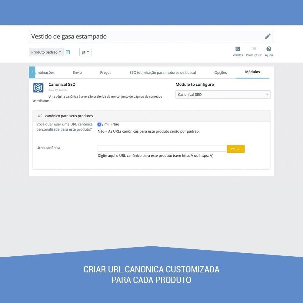module - Gestão de URL & Redirecionamento - Canonical SEO - 3