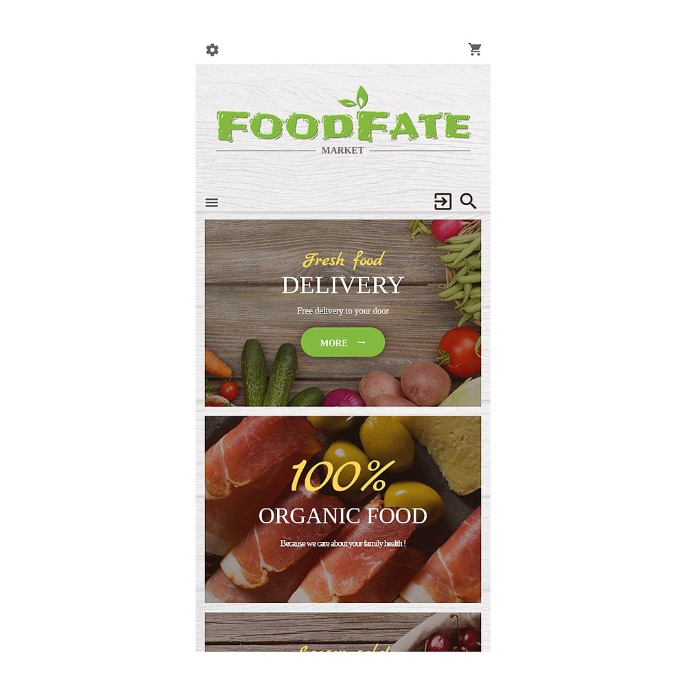 theme - Food & Restaurant - FoodFate - Supermarket - 8