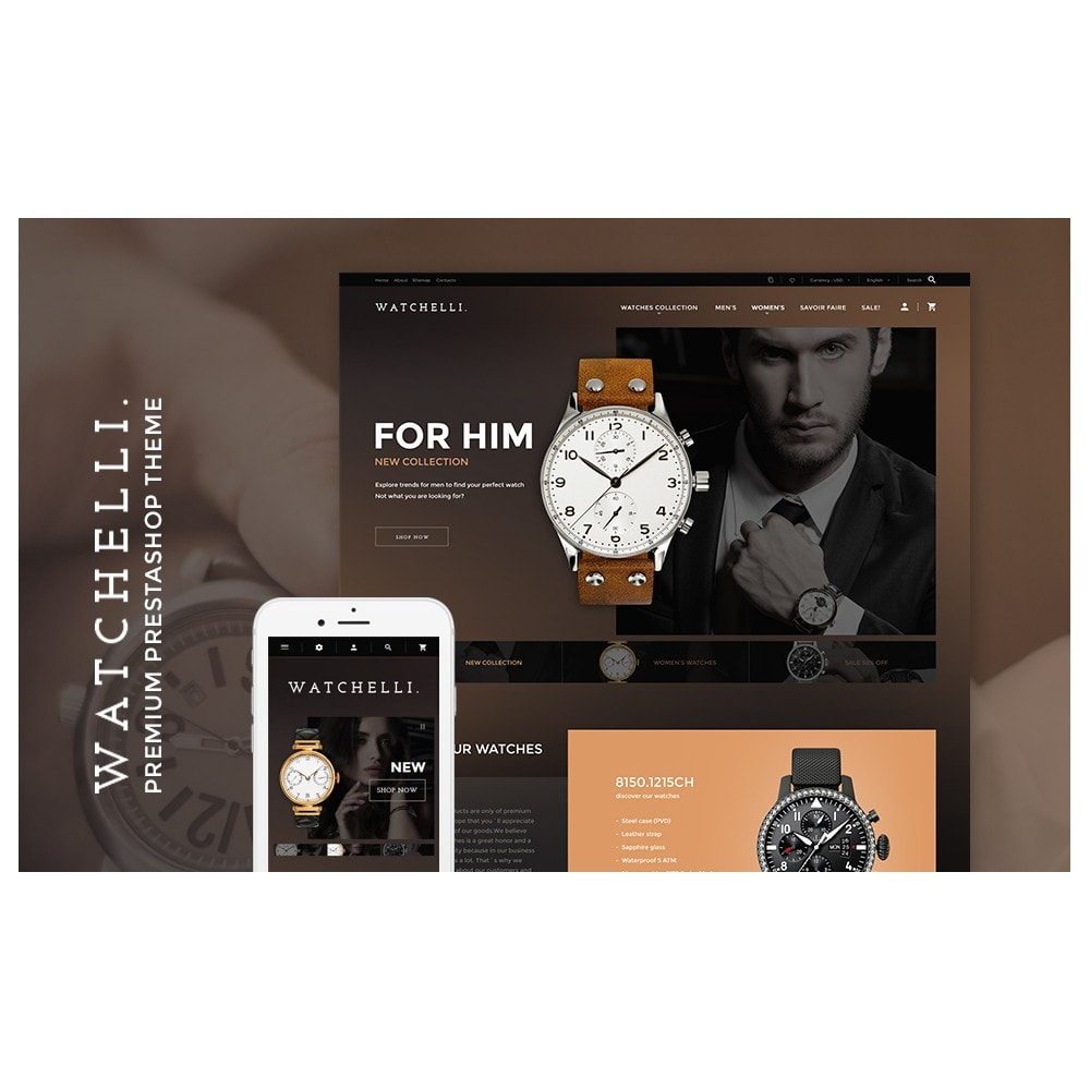 theme - Moda & Obuwie - Watchelli - Luxury Watches Store - 2