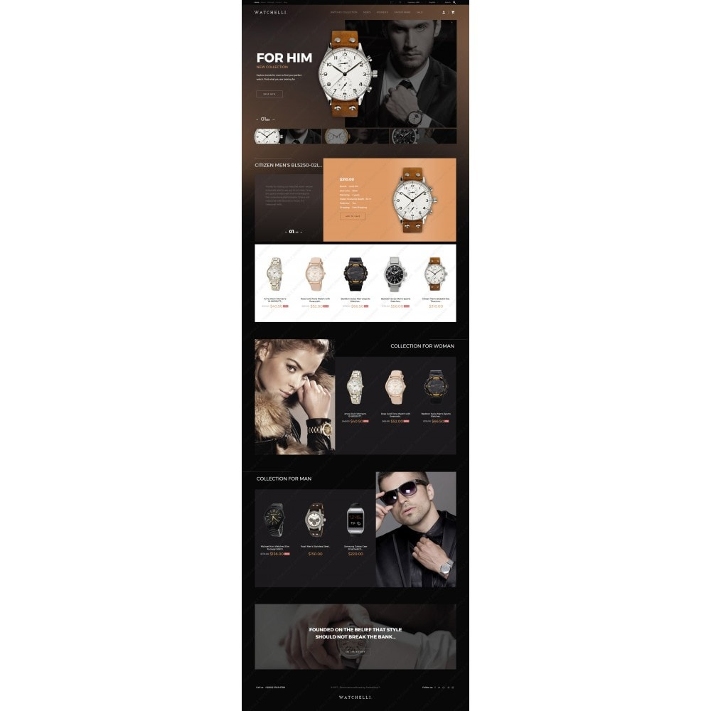 theme - Moda & Obuwie - Watchelli - Luxury Watches Store - 3
