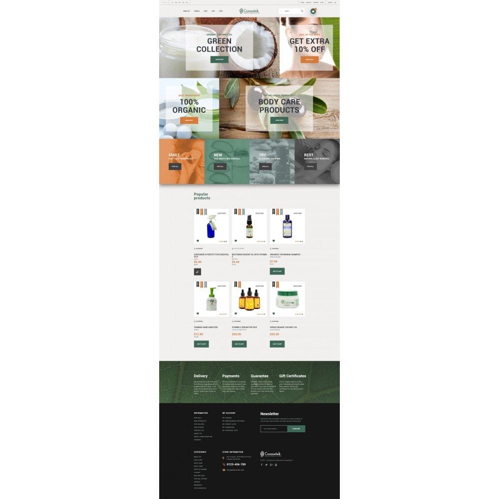 theme - Mode & Schuhe - Cosmetek - Organic Cosmetics Store - 4