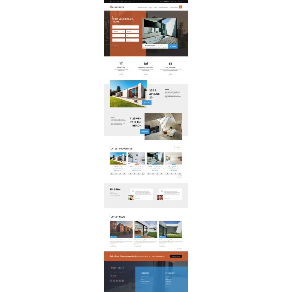 theme - Дом и сад - Leuendano - Real Estate Agency Responsive - 3