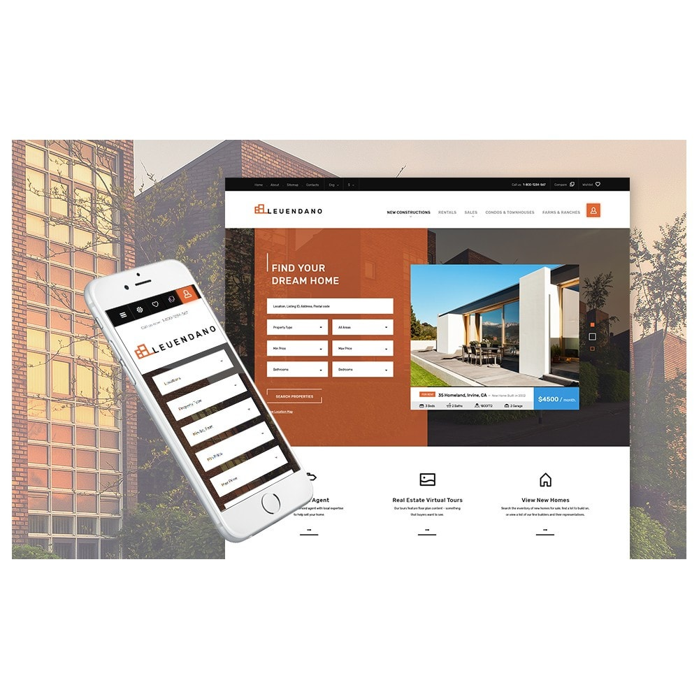theme - Дом и сад - Leuendano - Real Estate Agency Responsive - 4