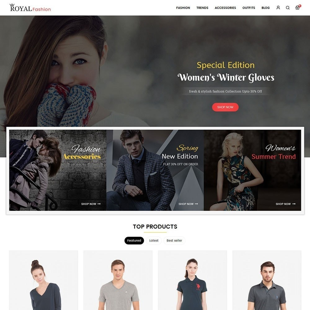theme - Moda & Calzature - Royal Fashion Store - 2