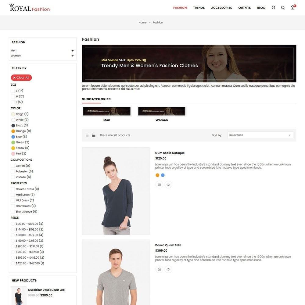 theme - Moda y Calzado - Royal Fashion Store - 4