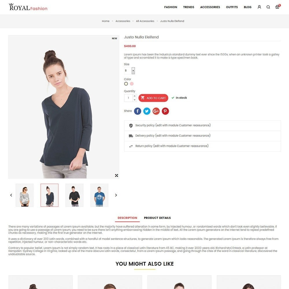 theme - Moda y Calzado - Royal Fashion Store - 5