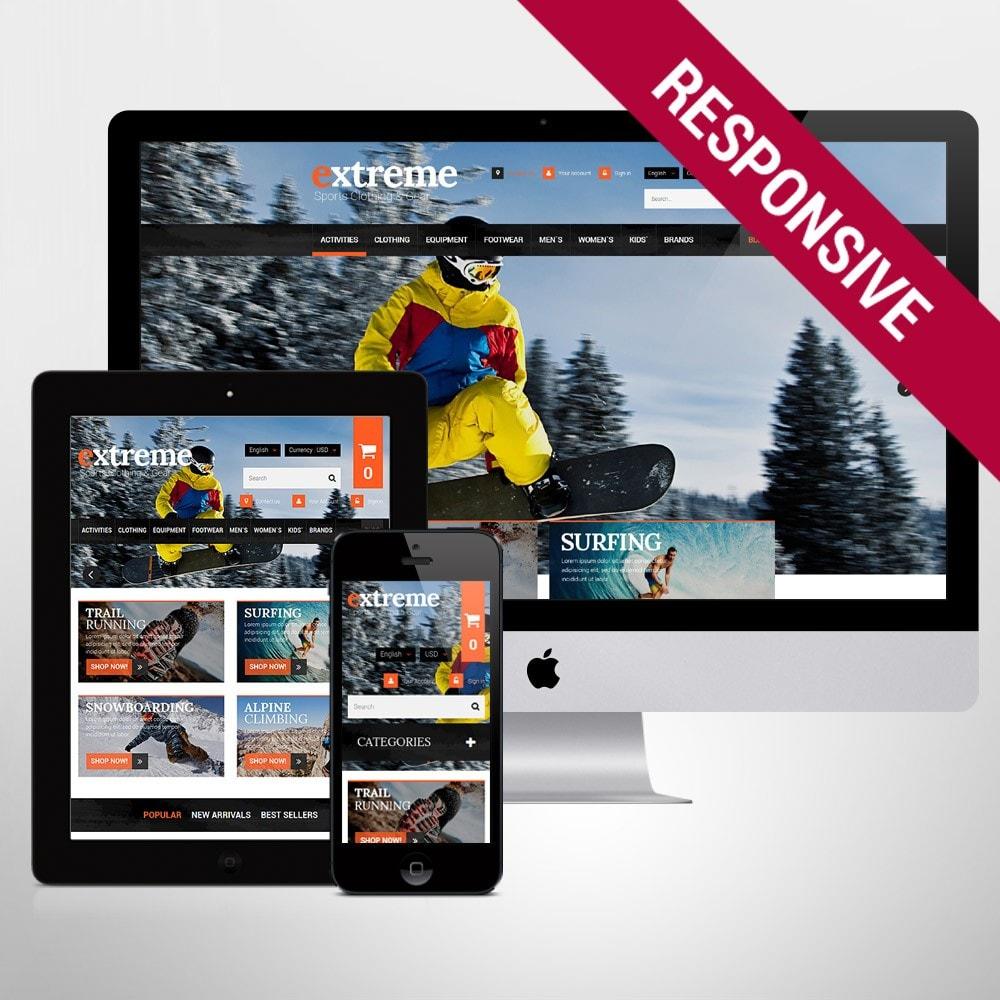 theme - Sport, Attività & Viaggi - Extreme Clothes & Gear - 1