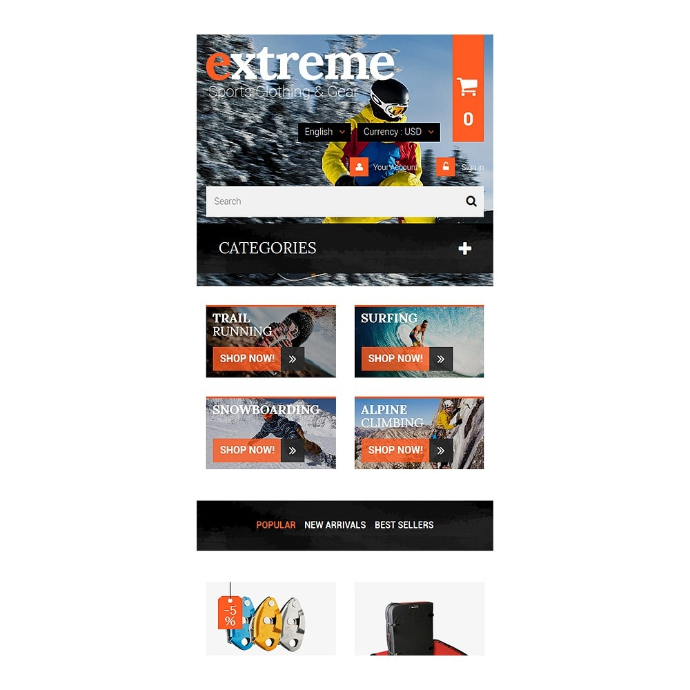 theme - Sports, Activities & Travel - Extreme Clothes & Gear - 8