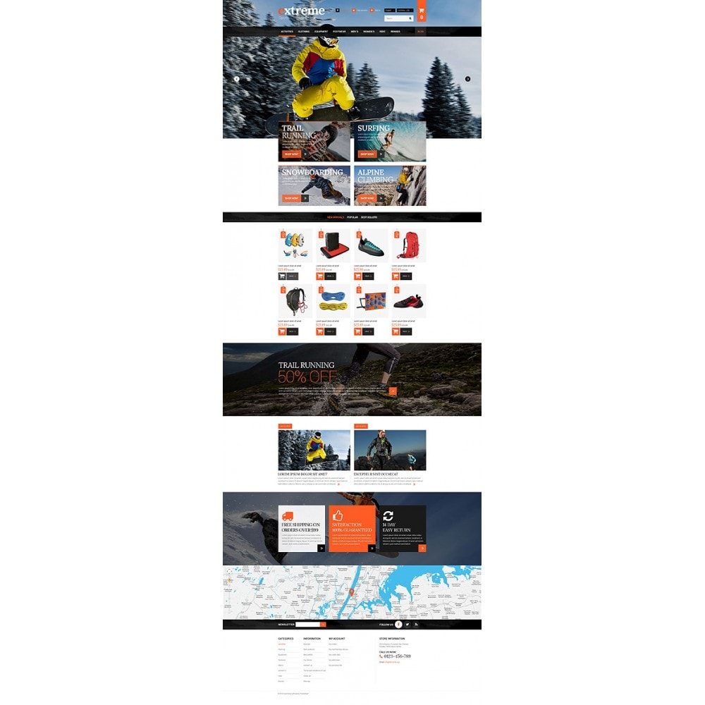 theme - Sport, Rozrywka & Podróże - Extreme Clothes & Gear - 10
