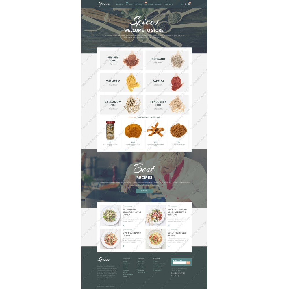 theme - Eten & Restaurant - Spice Shop - 5