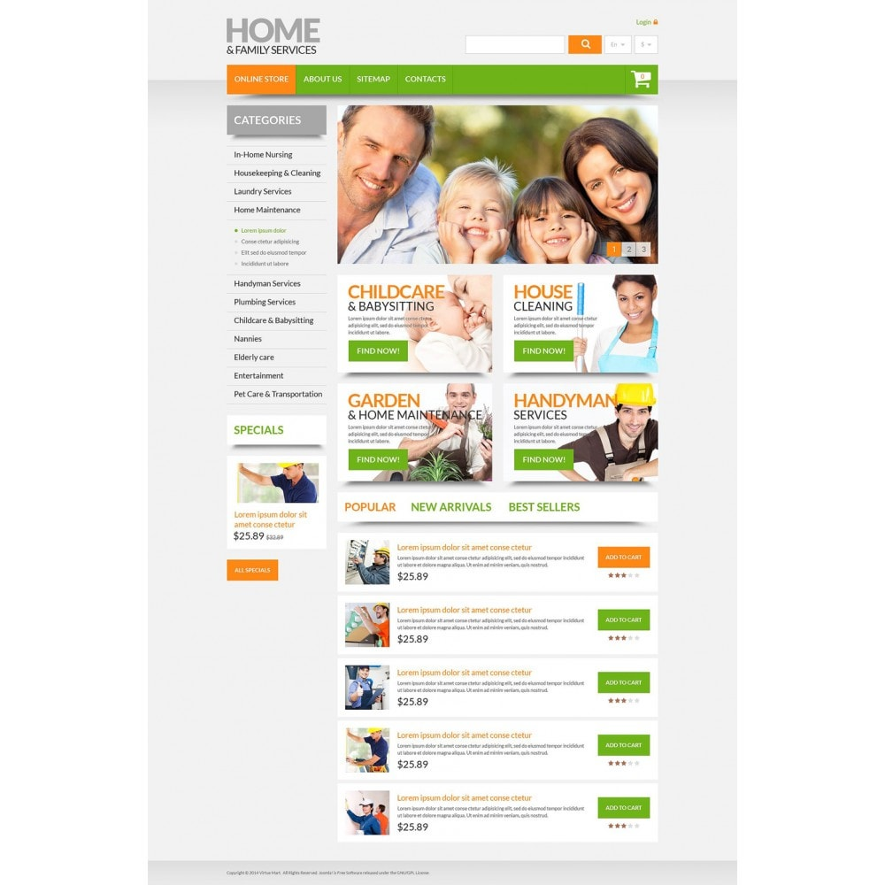 theme - Maison & Jardin - Home & Family Services - 2