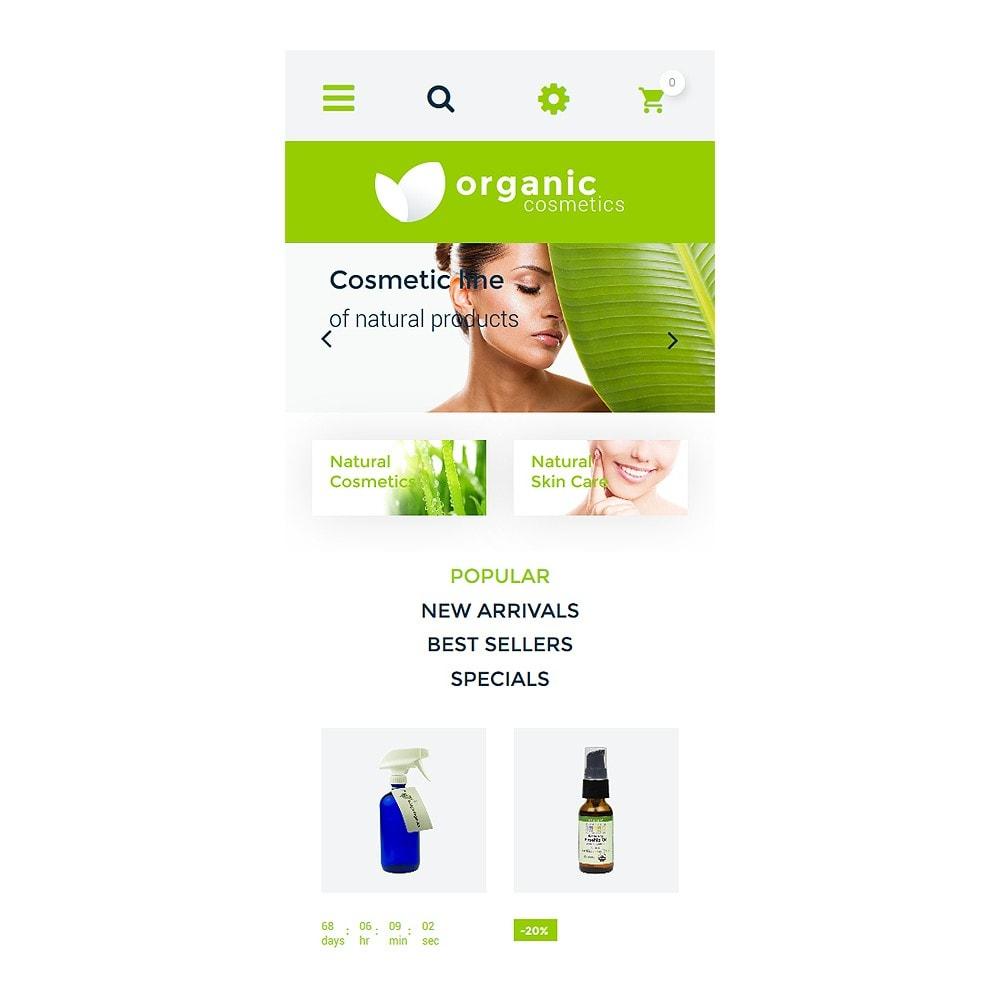 theme - Moda y Calzado - Organic cosmetics - responsive - 9