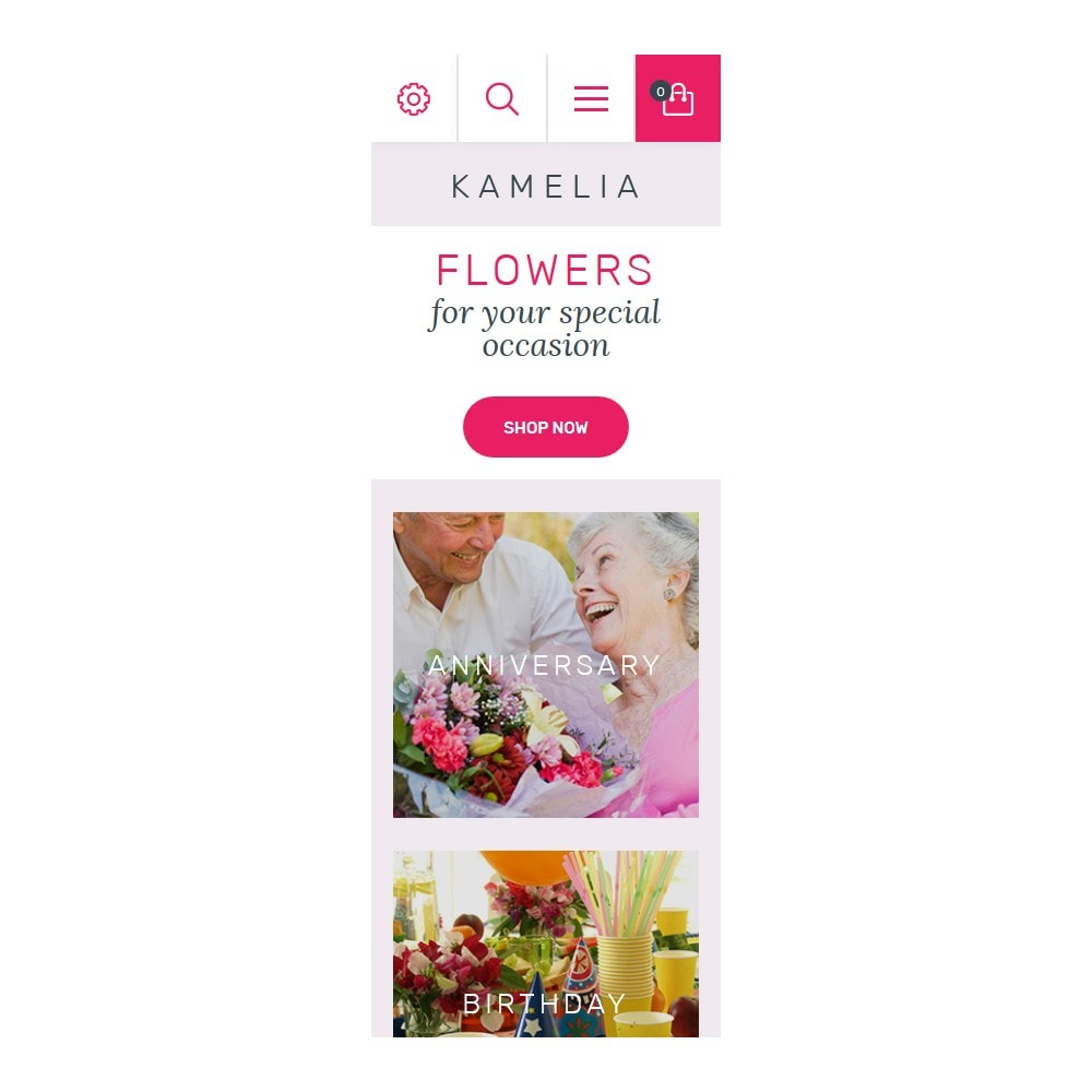 theme - Gifts, Flowers & Celebrations - Kamelia - 9