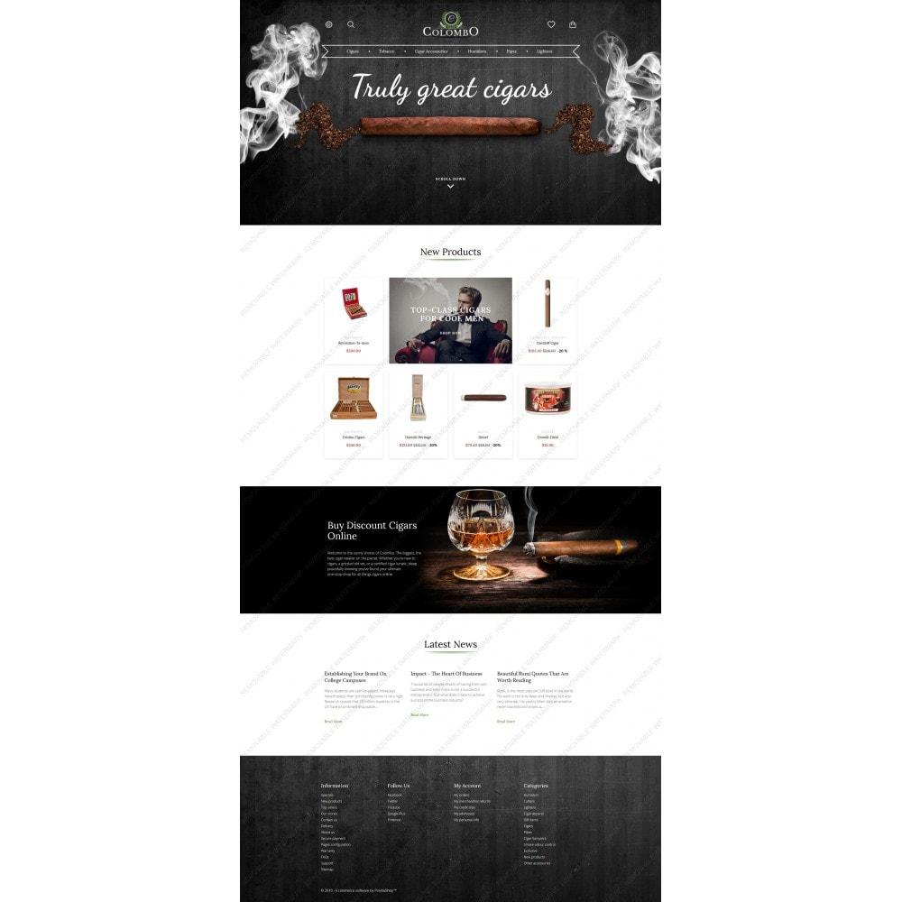 theme - Casa & Giardino - Colombo - Tobacco Responsive - 5