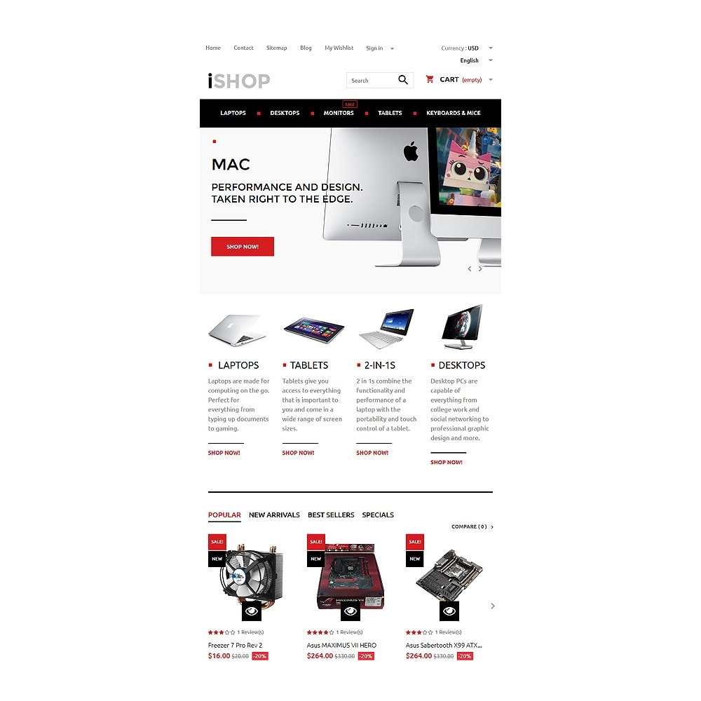 theme - Electronics & Computers - iShop - 7