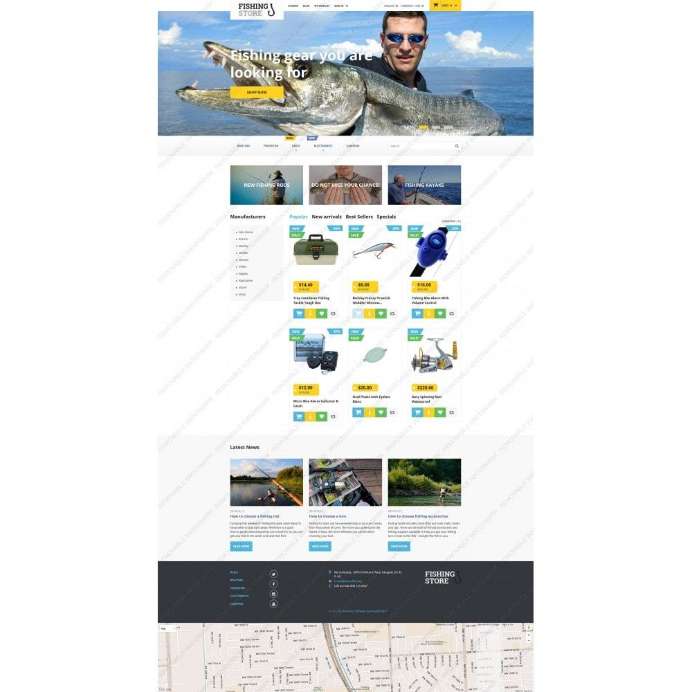 theme - Sport, Rozrywka & Podróże - Fishing Store - 5