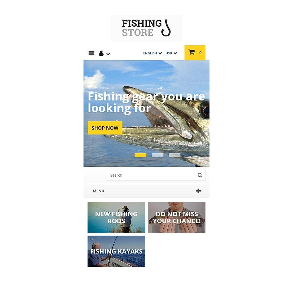 theme - Sport, Rozrywka & Podróże - Fishing Store - 8