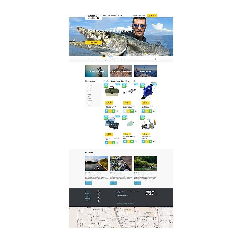 theme - Sport, Rozrywka & Podróże - Fishing Store - 10