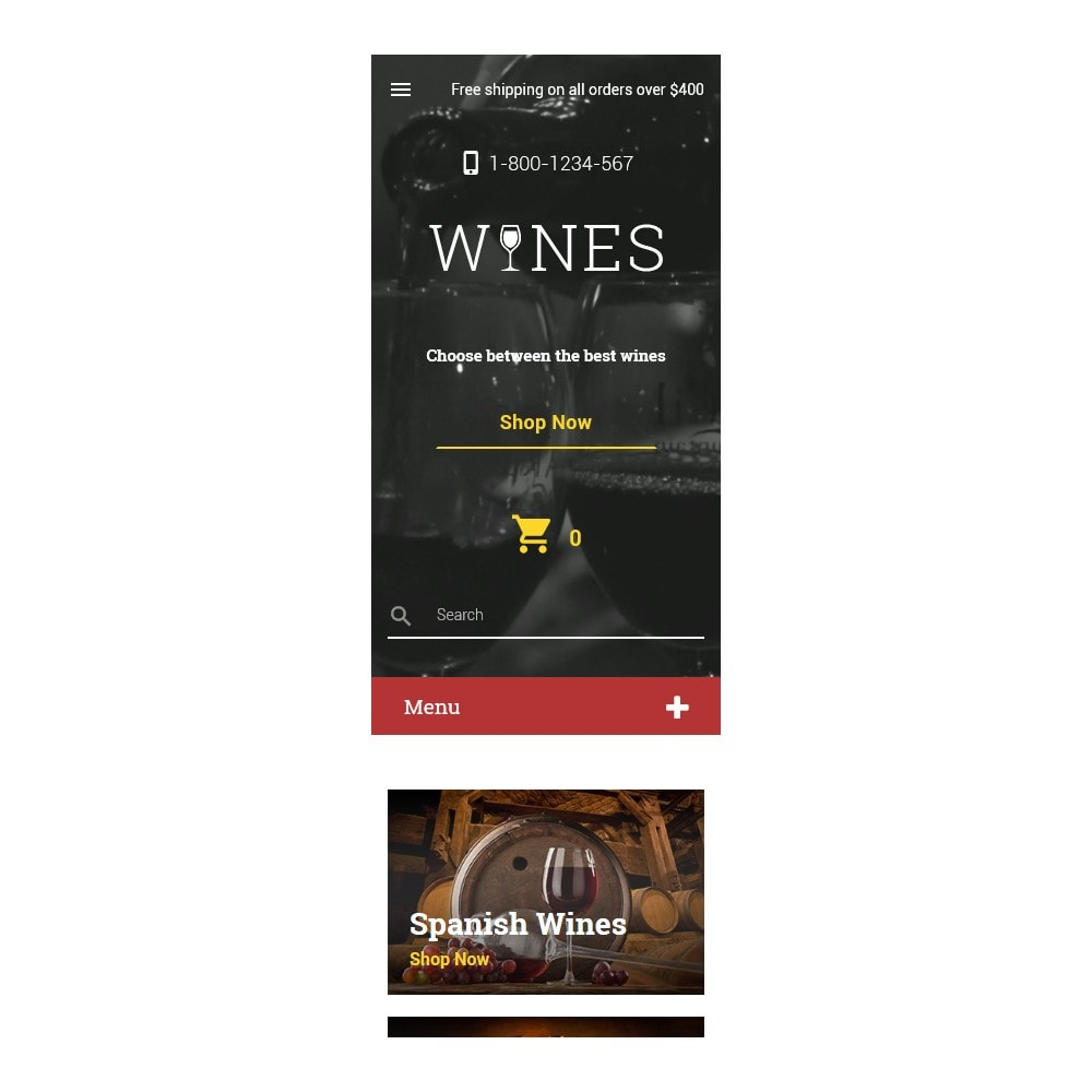 theme - Alimentation & Restauration - Wines - 9