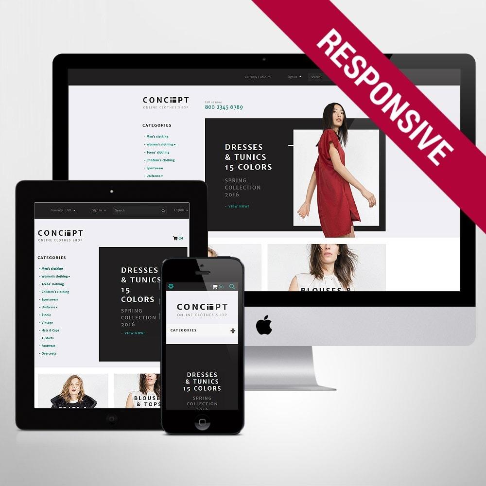 theme - Mode & Schuhe - Concept - Apparel Template - 1