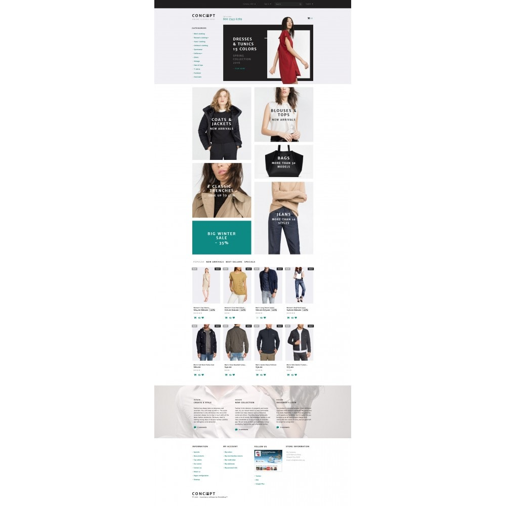 theme - Mode & Schuhe - Concept - Apparel Template - 4