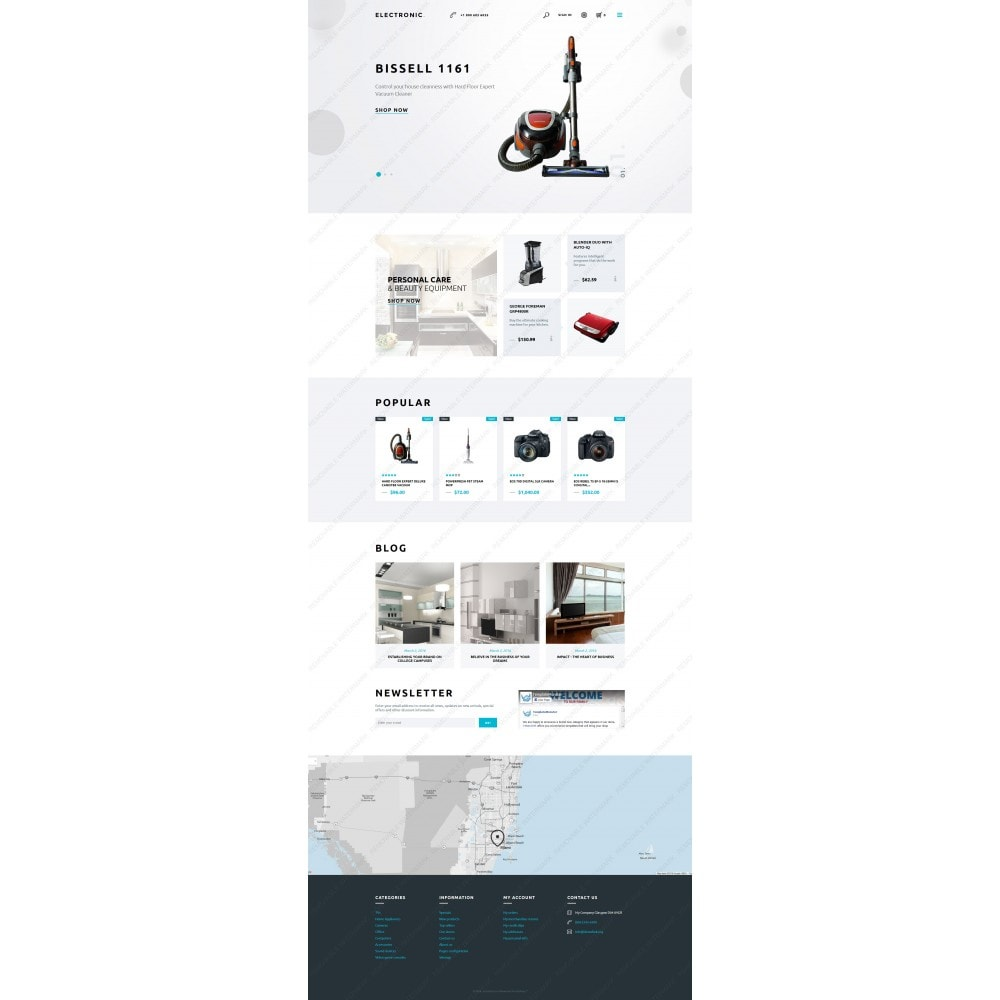 theme - Elektronika & High Tech - White Electronics Store PrestaShop Theme by ArtVertex - 3