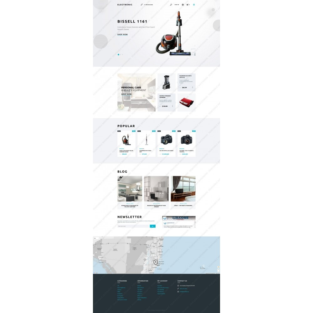 theme - Elektronika & High Tech - White Electronics Store PrestaShop Theme by ArtVertex - 5