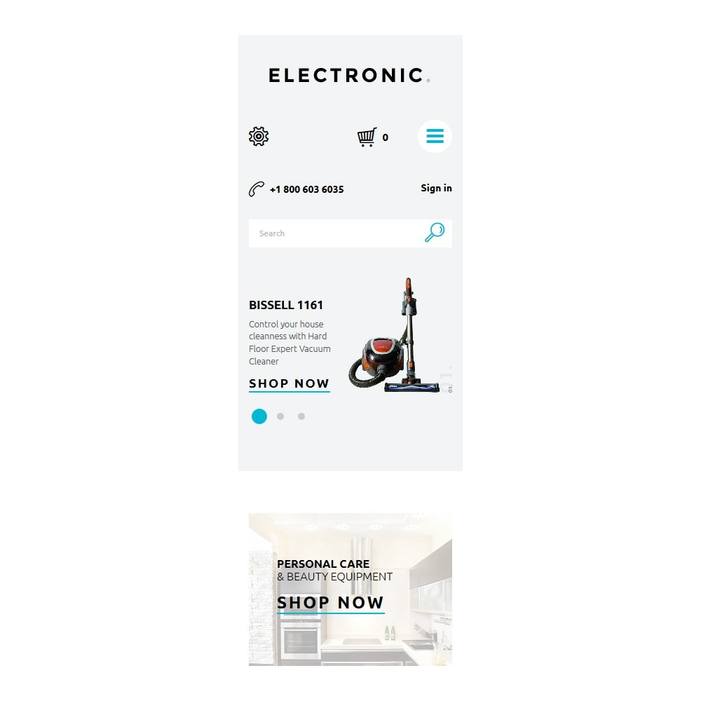 theme - Elektronika & High Tech - White Electronics Store PrestaShop Theme by ArtVertex - 9