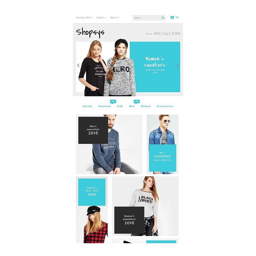 theme - Мода и обувь - Shopsys - Trendy Clothes - 7