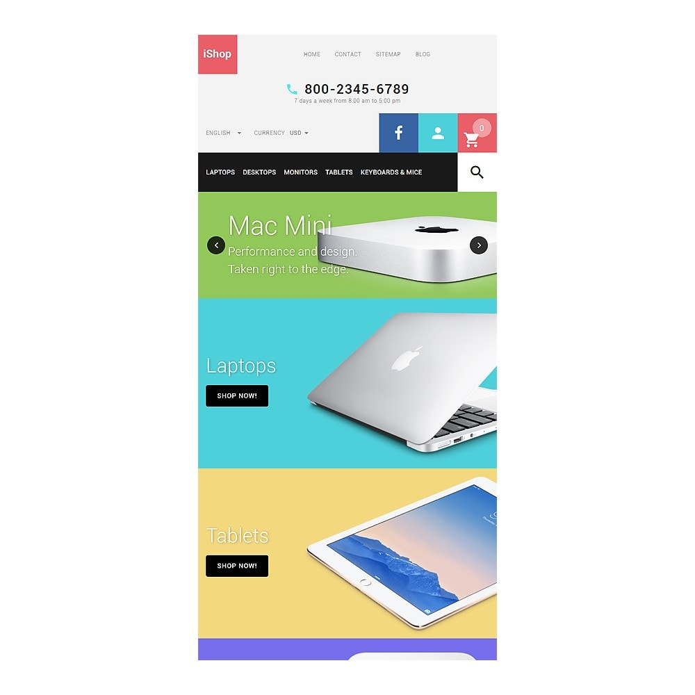 theme - Electronique & High Tech - iShop - White Computer Store - 7