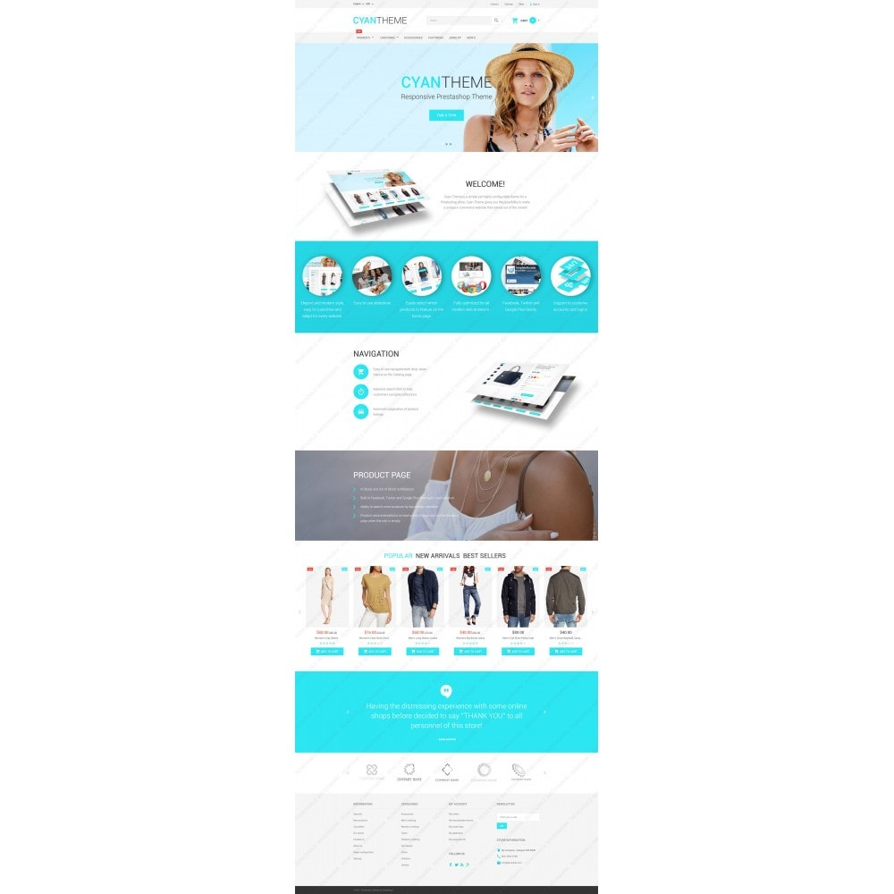 theme - Moda & Calzature - CyanTheme - 5