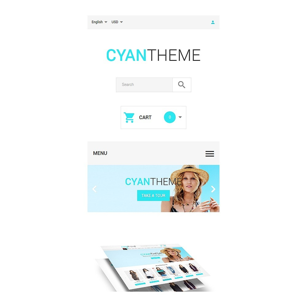 theme - Moda & Calzature - CyanTheme - 8
