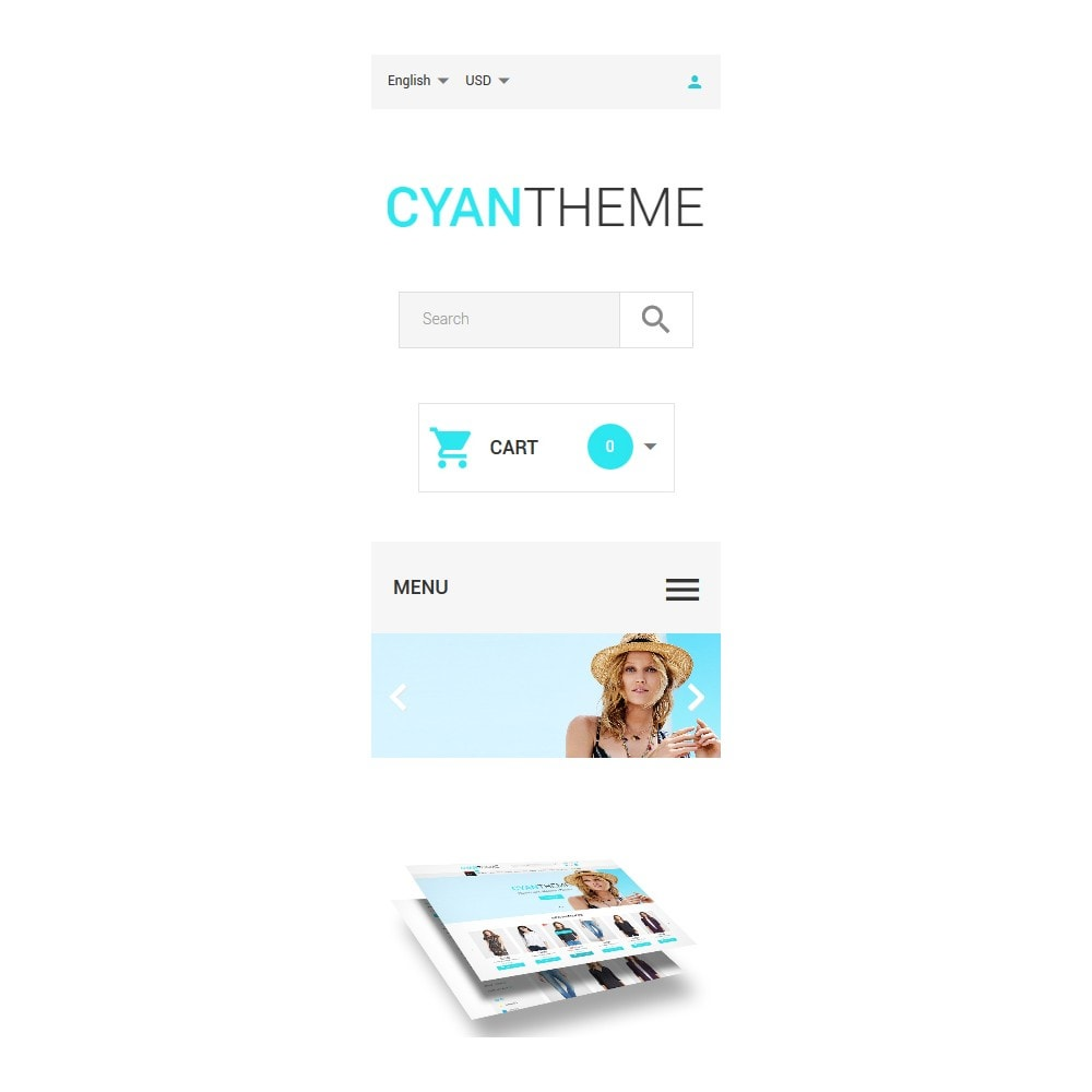 theme - Fashion & Shoes - CyanTheme - 9