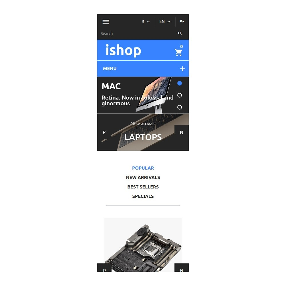 theme - Elektronica & High Tech - iShop - Computer Store - 6