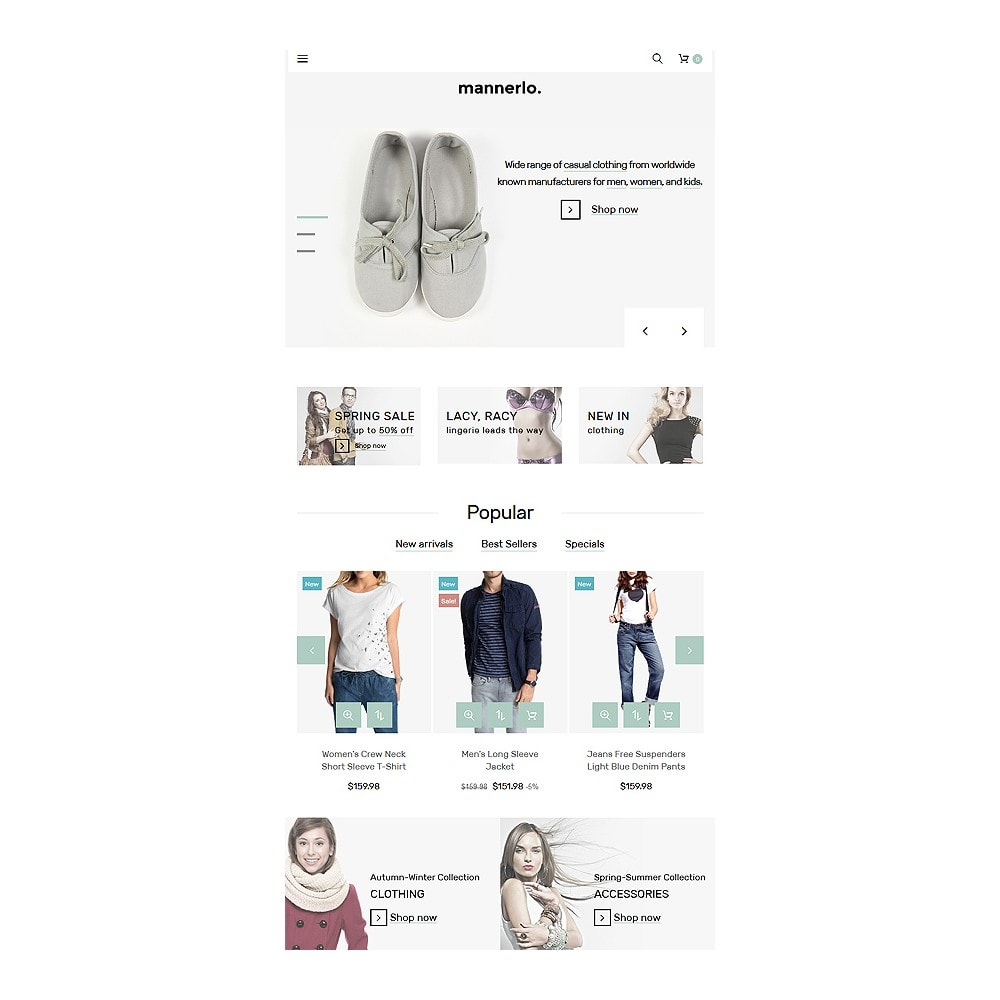 theme - Mode & Schuhe - Mannerlo - Apparel Responsive - 8