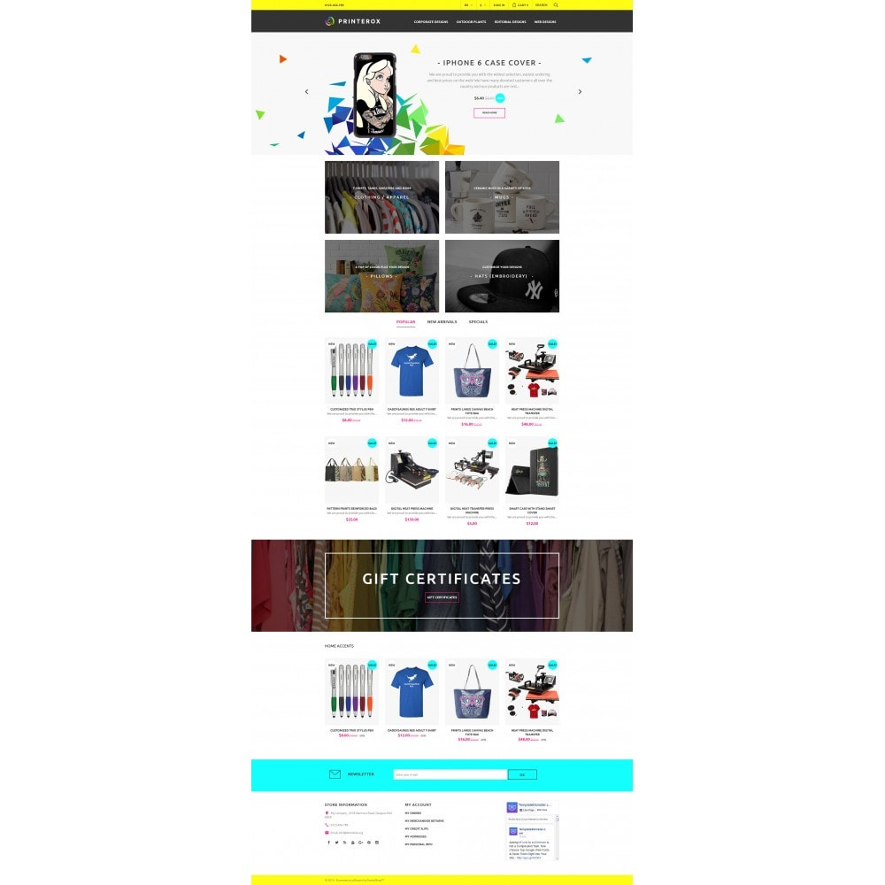 theme - Art & Culture - Printerox Design Responsive - 4