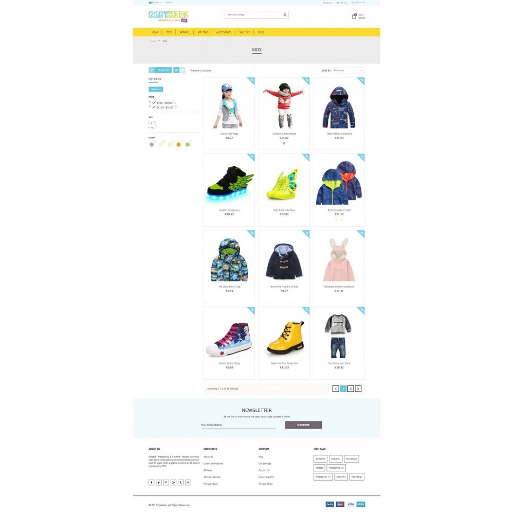 theme - Kinder & Spielzeug - Kids & Toys - smart responsive Store - 4