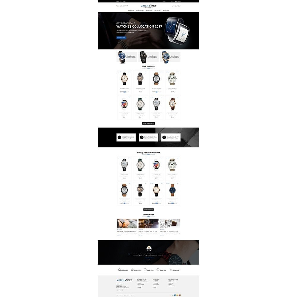 theme - Jewelry & Accessories - Watch & Times Store - 2