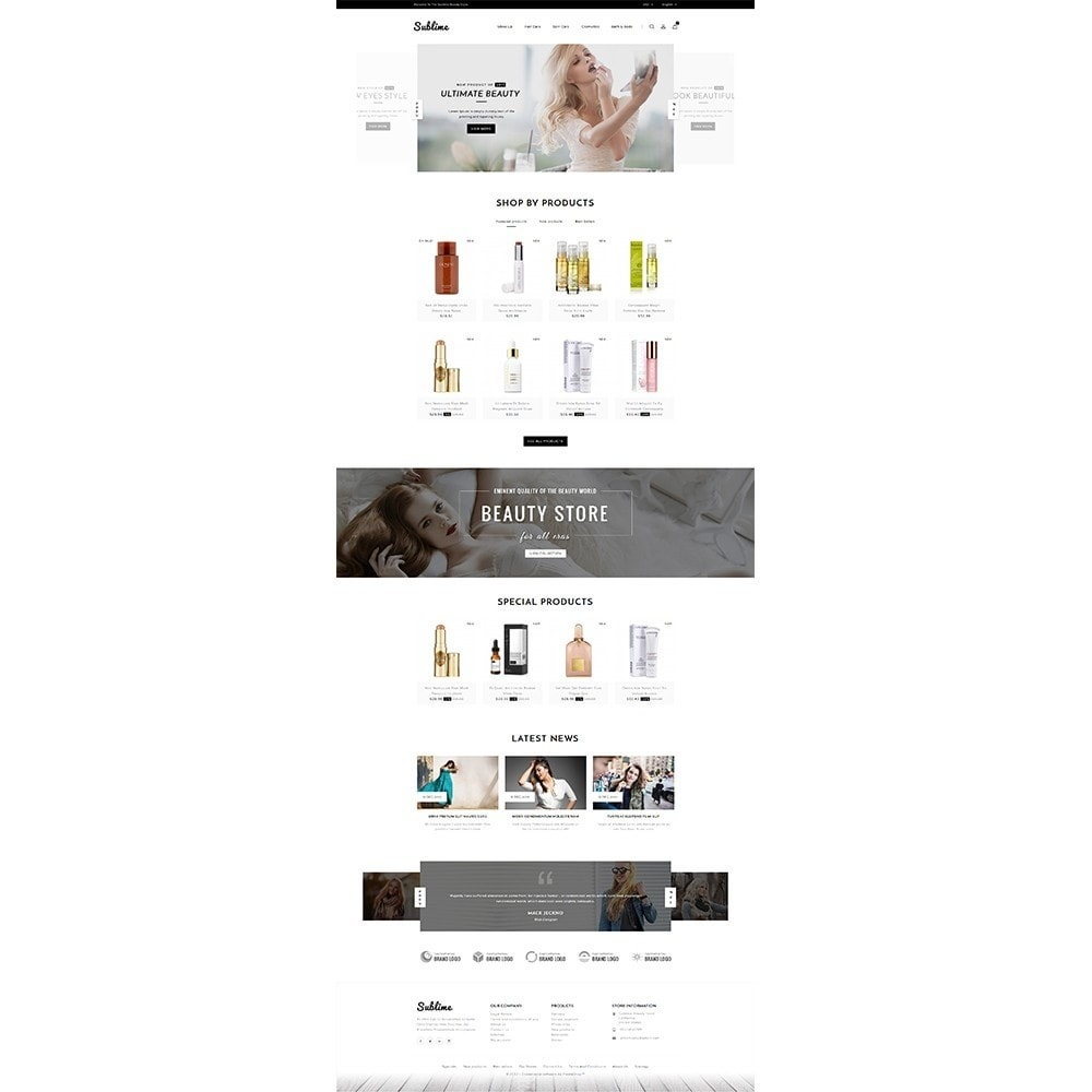 theme - Health & Beauty - Sublime Beauty Store - 2