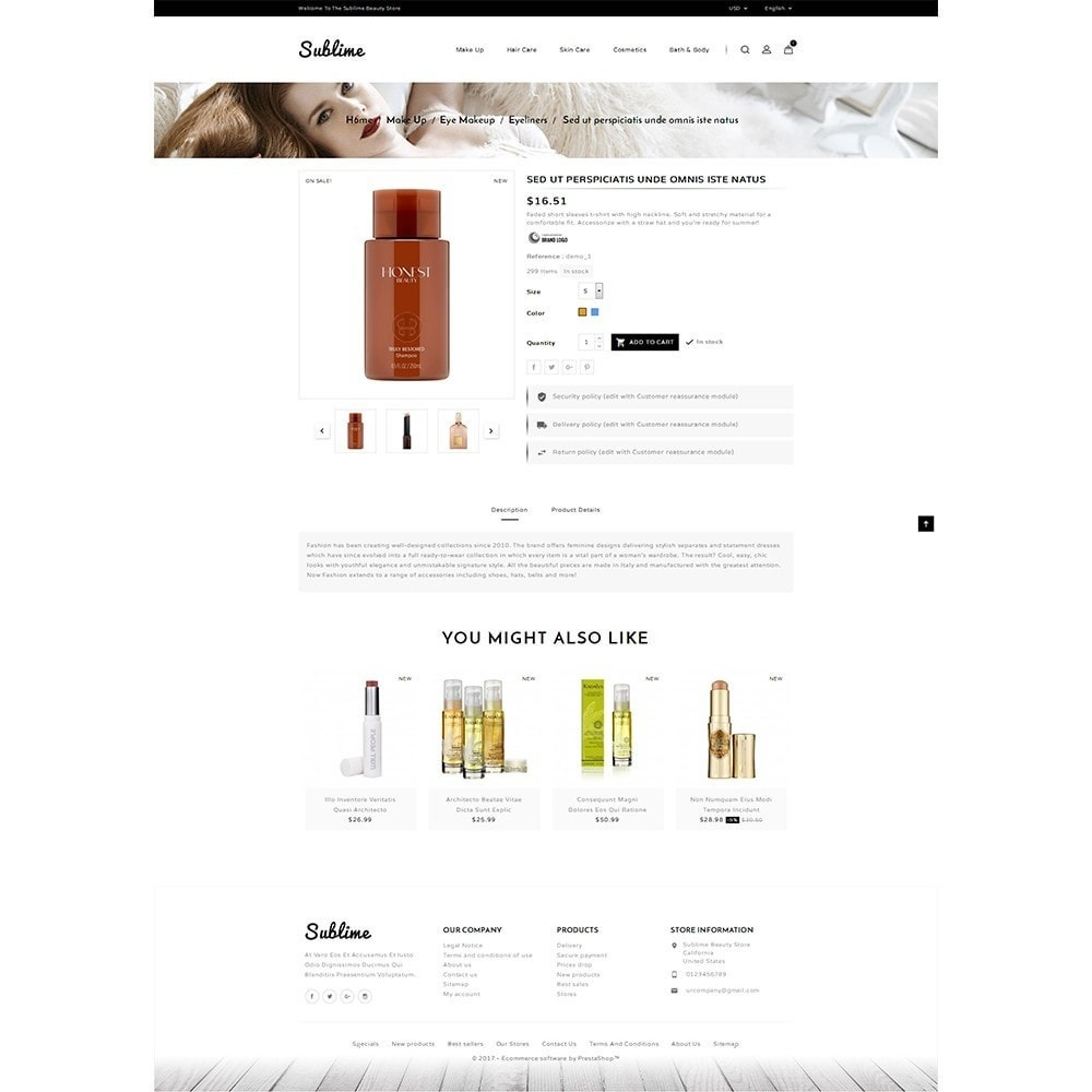 theme - Health & Beauty - Sublime Beauty Store - 6