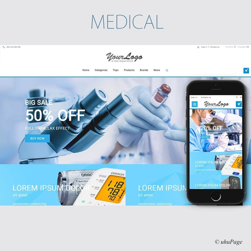 theme - Gezondheid & Schoonheid - UP Medical Equipment Store - 1