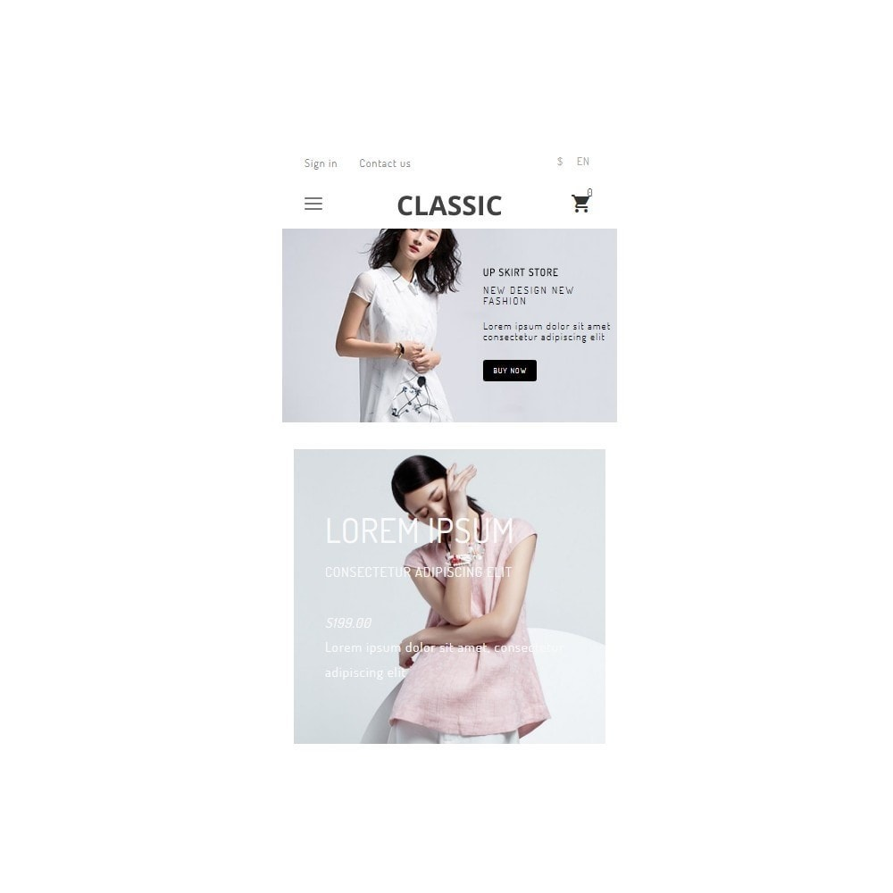theme - Mode & Chaussures - UP Fashion and Elegance Store - 3