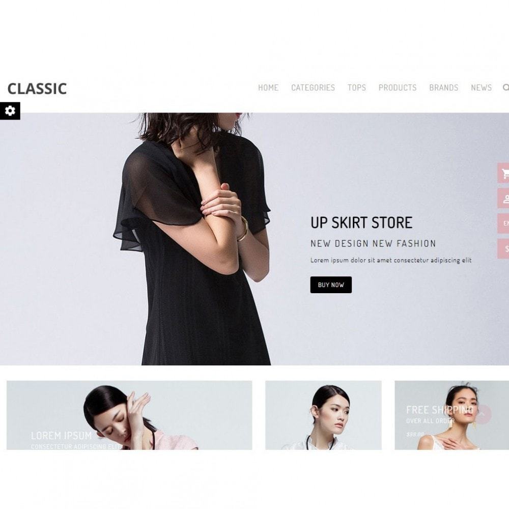 theme - Мода и обувь - UP Fashion and Elegance Store - 5