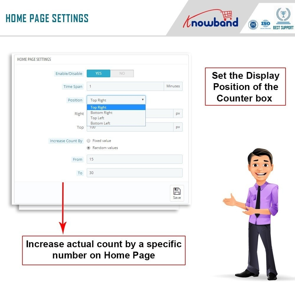 module - Additional Information & Product Tab - Knowband - Page Viewers Counter - 4