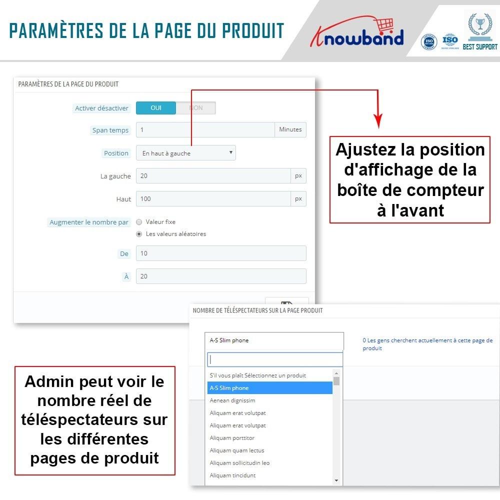 module - Information supplémentaire & Onglet produit - Knowband - Compteur de Vues de Page - 6